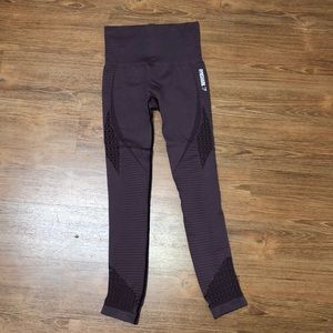 gymshark purple seamless leggings